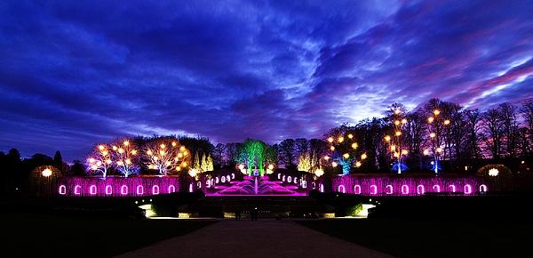 The Alnwick Garden, Alnwick, Northumberland.