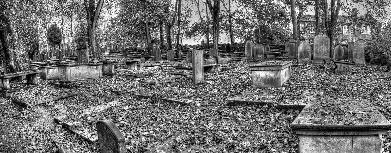 Churchyard in Haworth, Yorkshire