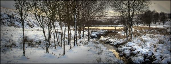 Winter at Burbrook Bridge by silverbells