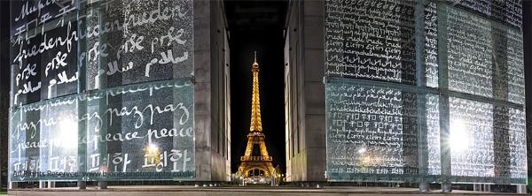 Eiffel Tower Paris by llareggub
