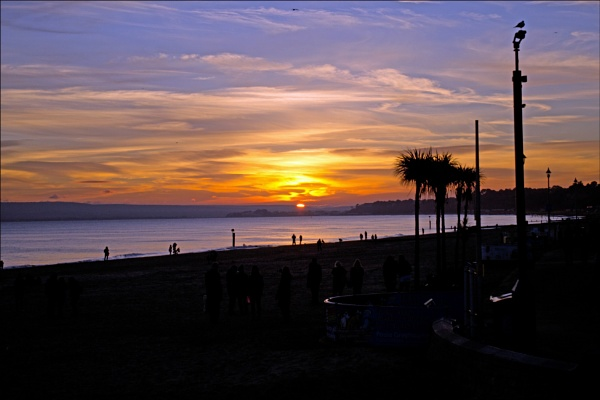 Bournemouth Sunset by Citr0en