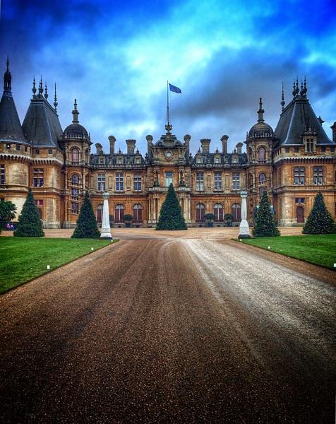 National Trust - Waddesdon Manor at xmas by Simon_Marlow