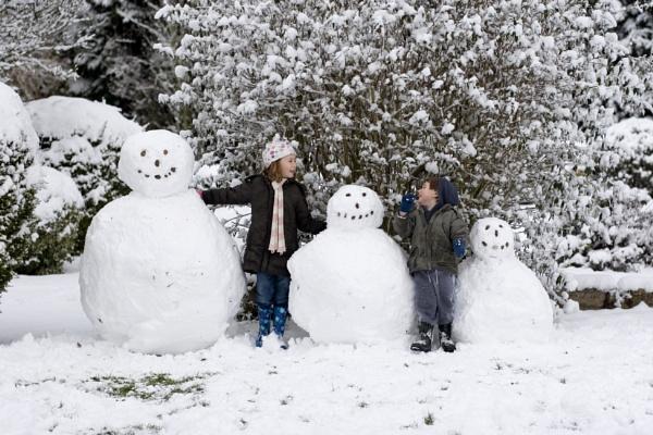 Snowmen by starrchild