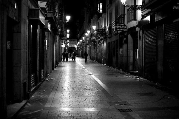 End of a good night, San Sebastian by cisco4611