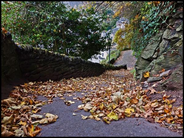 Steep Path to Lynton by bwlchmawr
