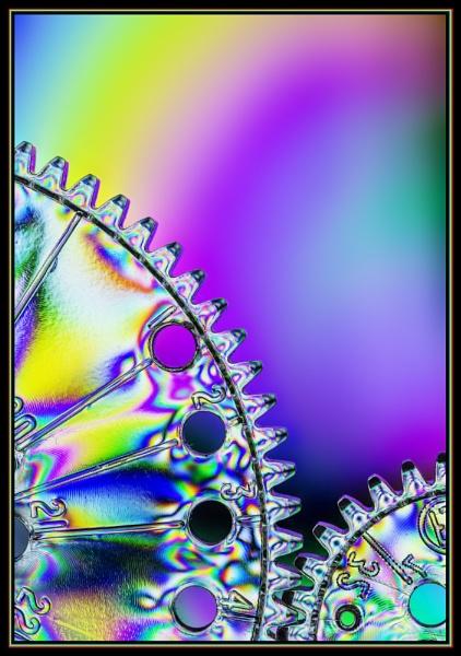 CLOCKWORK RAINBOW by kel55