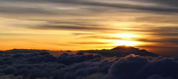 Sunset behind Meru by MarkyMarc