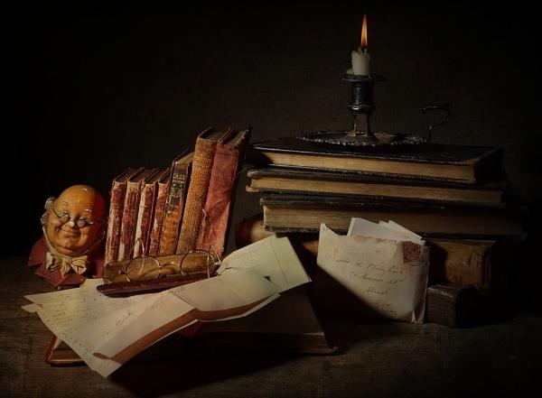 Still Life Books by cattyal