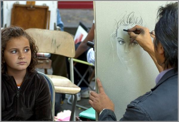 Portrait of a Portrait by 49er