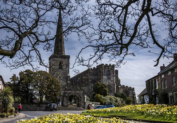 St Mary Church, Astbury, Cheshire by ednys