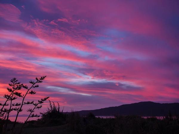 Sunset at Kapiti by camay