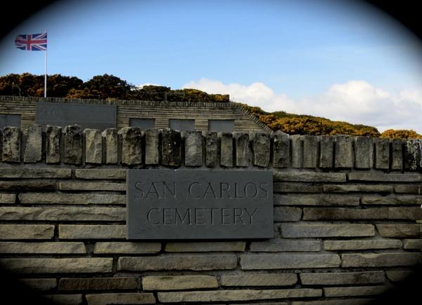Blue Beach Cemetery Falkland Islands by eonisuk