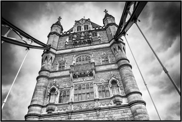 North Tower, Tower Bridge by PhilNewberry