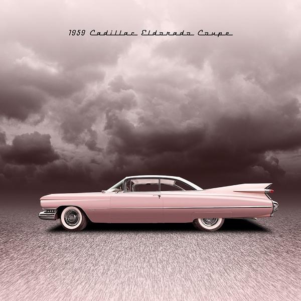 1959 Cadillac Eldorado Coupe by arhb