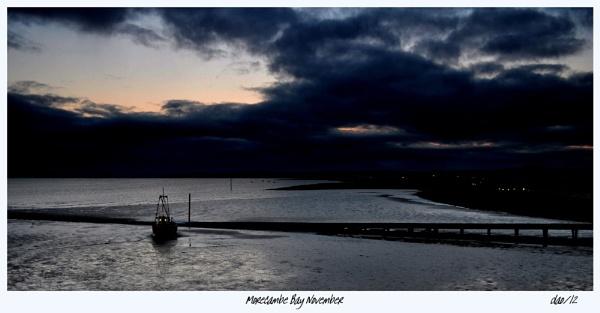 Morecambe Bay November by daveyo