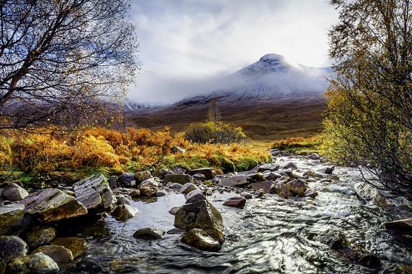 Sparkling River by Esge