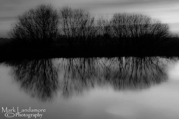 Riverbank Reflections by mlanda