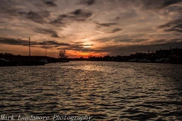 Broads Sunset by mlanda
