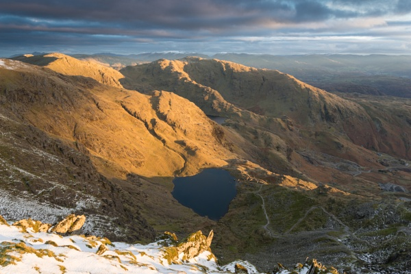 Old Man Of Coniston Sunrise by jamesgrant