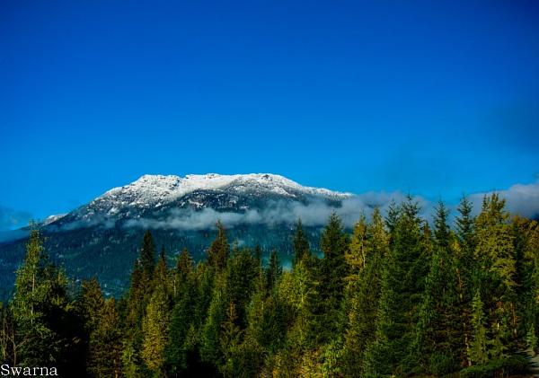 View from Alta Lake, BC by Swarnadip