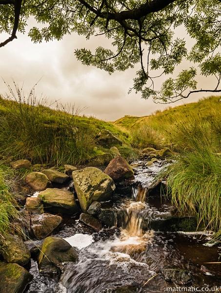 Stream in Quernmore by mattmatic