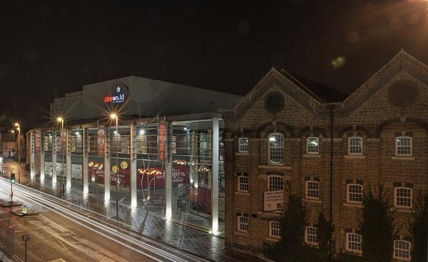 Cheltenham at night by PEELO