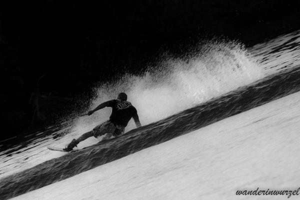 wakeboarder by wanderinwurzel