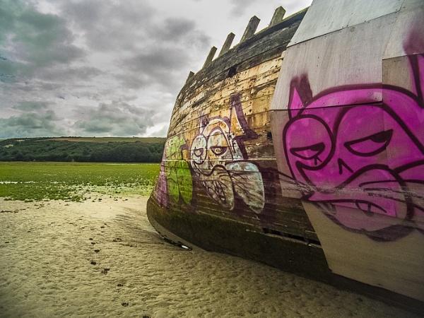 GANNEL GRAFFITI. by mwoods
