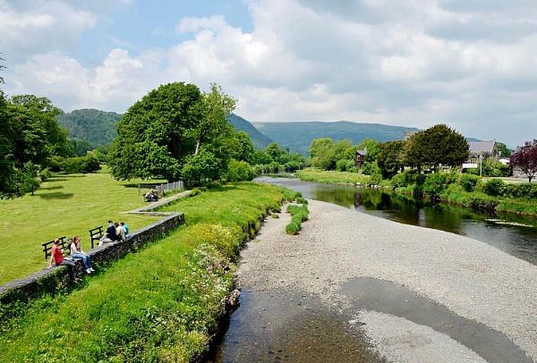 Llanrwst, North Wales by Evertonian