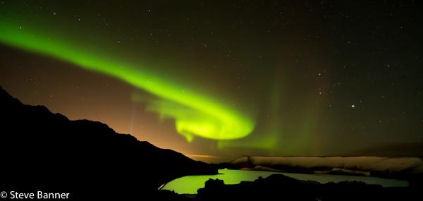 Iceland northern lights by Stevetheroofer