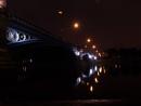 Trent Bridge at night