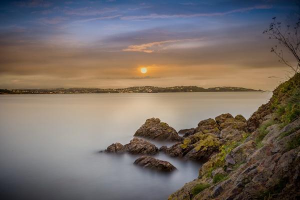 Silky Water Sunrise by neeley