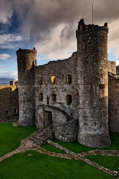 Harlech Castle by Sezz