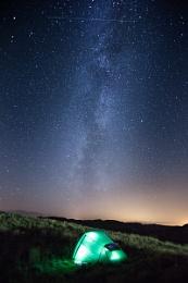 St Abbs Milky Way