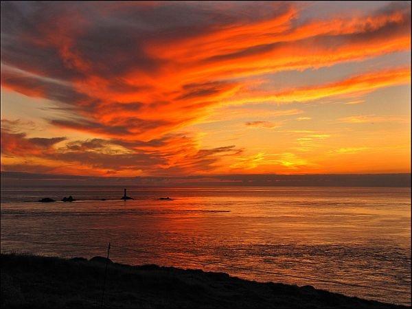 Sunset at Landsend by cramj