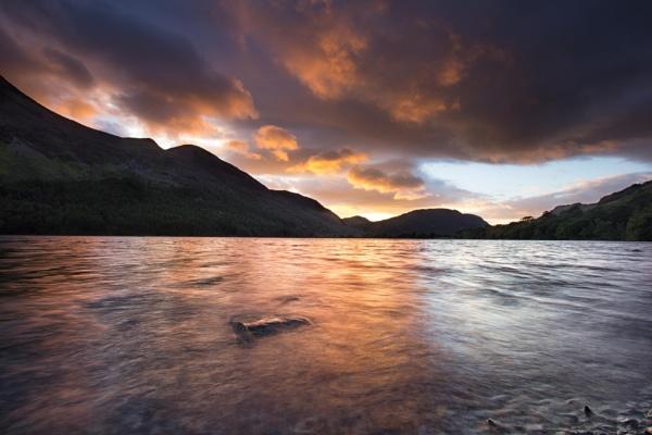 buttermere sunset1 by lesterlester
