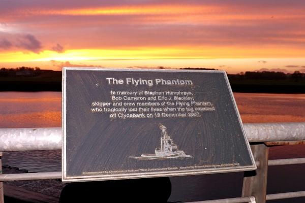 Flying Phantom Sunset by harky2402