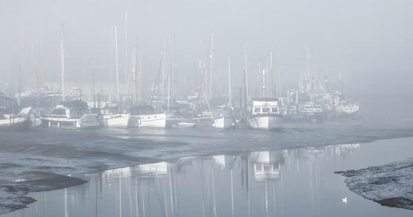 Misty Maldon morning. by Fiore