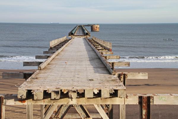 Steetley works pier north sands hartlepool by bobsblues