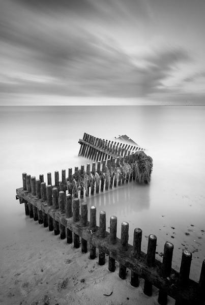 Caister Groynes by Chris_H