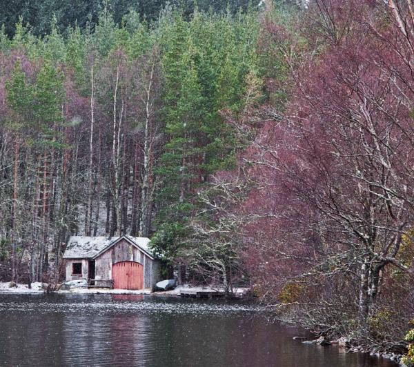 Winter boathouse #1 by Boleskine