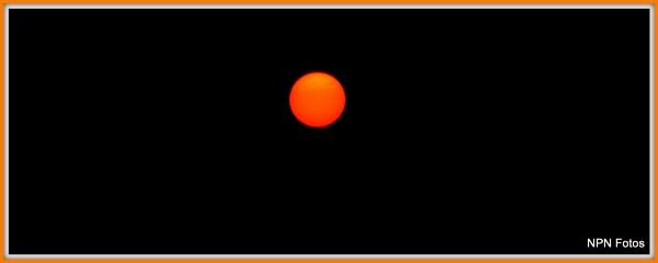 Orange Ball in the sky .... by phani1505
