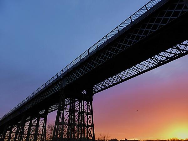 Bennerley Viaduct by Adamzy