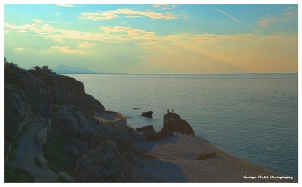 Seascape at Rhodes by GeorgePlatis