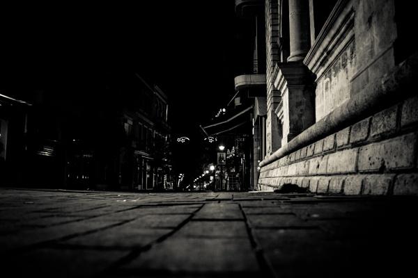 Heraklion at night by derrymaine