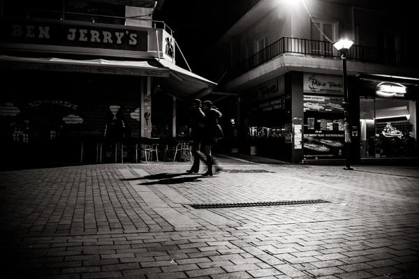 Heraklion at night 2 by derrymaine