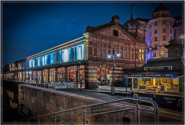 Bristol Docks At Night by jason_e