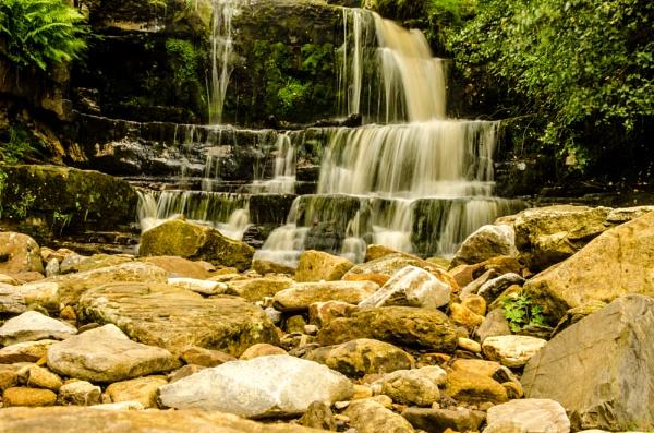 Muker Falls by GraemeR