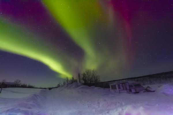 Aurora Borealis by SueLeonard