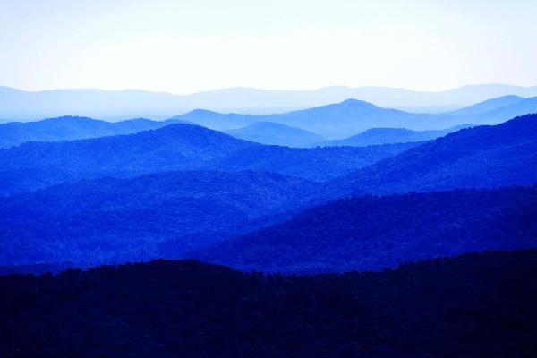 Blue Ridge Mountains by guitarman74uk